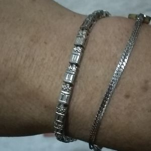 Ross Simon's sterling bracelet!
